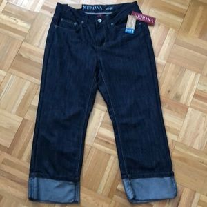 NWT Merona Cropped Cuffed Jeans